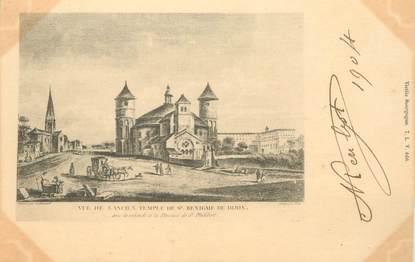 "CPA FRANCE 21 ""Dijon, Ancien temple de Saint Benigme"""