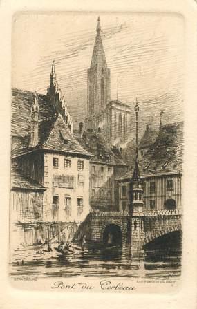 """CPA FRANCE 67 """"Strasbourg"""" / GRAVURE"""