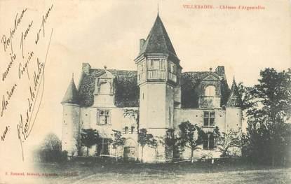 """CPA FRANCE 61 """"Villebadin, Chateau d'Argentelles"""""""