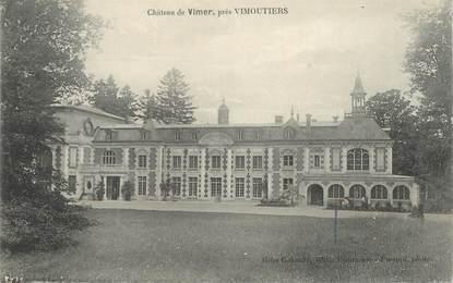 """CPA FRANCE 61 """"Chateau de Vimer près Vimoutiers"""""""