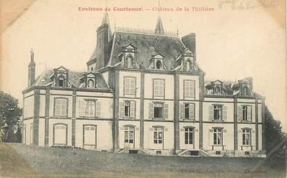 """CPA FRANCE 61 """"Env. de Courtomer, CHateau de la Thillière"""""""
