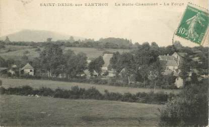 "CPA FRANCE 61 ""Saint Denis sur Sarthon, la Butte Chaumont"""