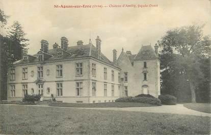 """CPA FRANCE 61 """"Saint Agnan sur Erre, Chateau d'Amilly"""""""