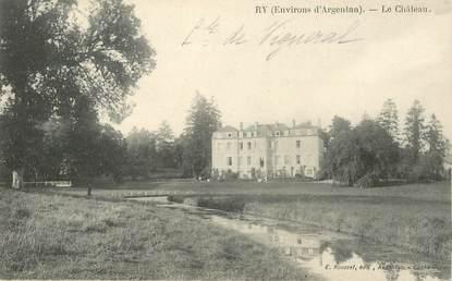 "CPA FRANCE 61 ""Ry, le Chateau"""