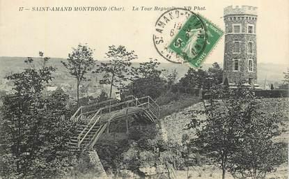 """CPA FRANCE 18 """"Saint Amand Montrond, la Tour Regnault"""""""