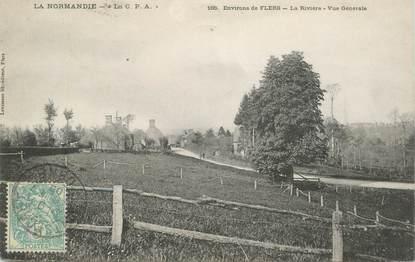 "CPA FRANCE 61 ""Env. de Flers, la Rivière"""