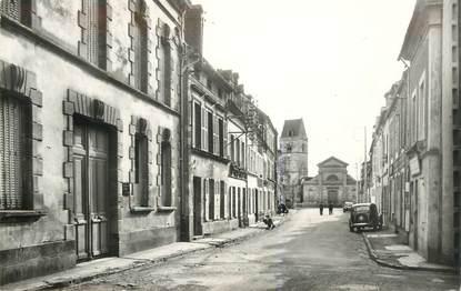 """CPSM FRANCE 61 """"Trun, rue de l'Eglise"""""""