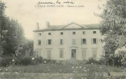 """CPA FRANCE 62 """"Villa Notre Dame, Maison et jardin"""""""