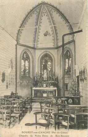 """CPA FRANCE 62 """"Bouret sur Canche, chapelle ND de Bon Secours"""""""
