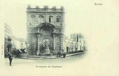 "CPA FRANCE 62 ""Arras, Fontaine de Neptune"""