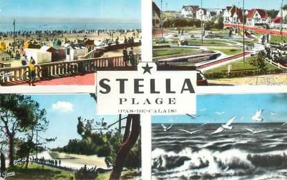 "CPSM FRANCE 62 ""Stella Plage"""