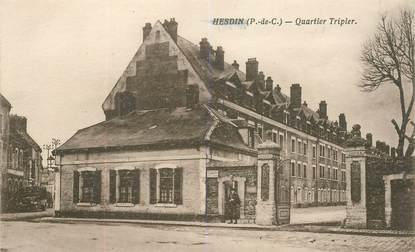 "CPA FRANCE 62 ""Hesdin, quartier Tripier"""