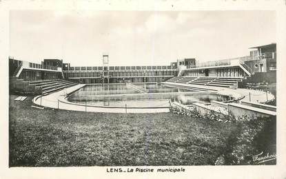 "CPA FRANCE 62 ""Lens, la piscine municipale"""