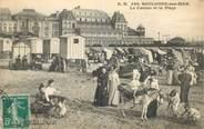 """62 Pa De Calai CPA FRANCE 62 """"Boulogne sur Mer, le casino et la plage"""""""