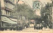 "83 Var CPA FRANCE 83 ""Toulon, le Bld de Strasbourg"" / TRAMWAY"