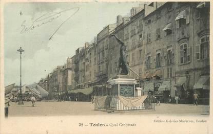 """CPA FRANCE 83 """"Toulon, Quai Cronstadt"""""""
