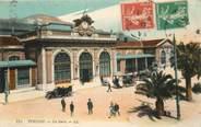 """83 Var CPA FRANCE 83 """"Toulon, La Gare"""""""