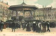 """83 Var CPA FRANCE 83 """"Toulon, La Place d'Armes, le kiosque de Musique"""""""