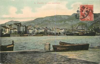 """CPA FRANCE 83 """"Toulon, le Port marchand"""""""