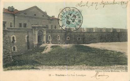 """CPA FRANCE 83 """"Toulon, le Fort Lamalgue"""""""