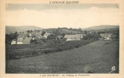"CPA FRANCE 12 ""Le Nayrac, le village de Fombillon"""