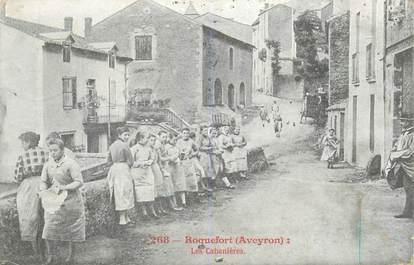 """CPA FRANCE 12 """"Roquefort, les Cabanières"""""""