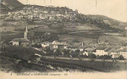 "CPA FRANCE 12 ""Aguessac et Compeyre"""