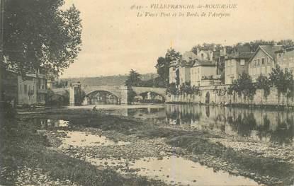 """CPA FRANCE 12 """"Villefranche de Rouergue"""""""