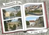 """12 Aveyron CPSM FRANCE 12 """"Saint d'Olt"""""""
