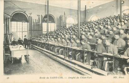 """CPA FRANCE 78 """"Ecole de Saint Cyr"""""""