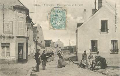 """CPA FRANCE 78 """"Villaine, Place Lucien Le Sergent"""""""