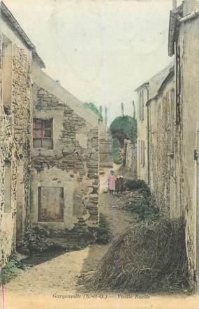 "CPA FRANCE 78 ""Gargenville, vieille ruelle"""