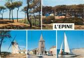 """85 Vendee CPSM FRANCE 85 """"Ile de Noirmoutier, camping l'Epine"""""""