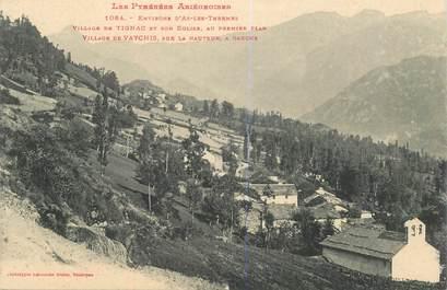 """CPA FRANCE 09 """"Villages de Tignac et de Vaychis"""""""