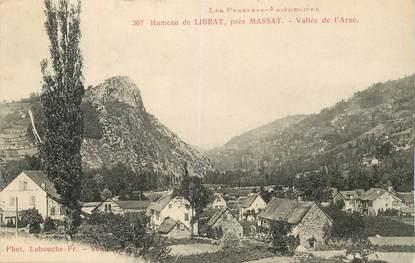 """CPA FRANCE 09 """"Hameau de Librat près de Massat"""""""