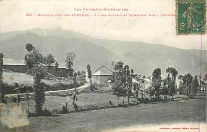 """CPA FRANCE 09 """"Env. d'Ax les Thermes, village d'Ignaux"""""""
