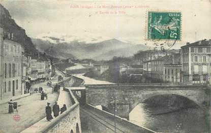 """CPA FRANCE 09 """"Foix, le Mont Fourcat"""""""