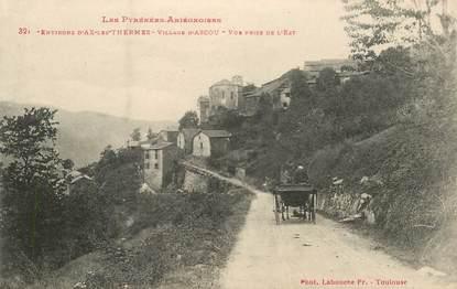 """CPA FRANCE 09 """"Env. d'Ax les Thermes, Village d'Ascou"""""""