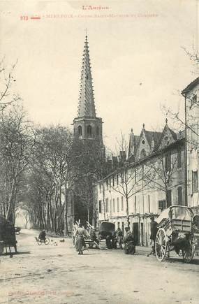 """CPA FRANCE 09 """"Mirepoix, Cours Saint Maurice"""""""