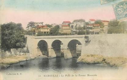 """CPA FRANCE 13 """"Marseille, le Pont de la Fausse Monnaie"""""""
