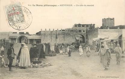 """CPA MAROC """"Azemmour, un coin du marché"""""""