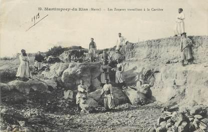 """CPA MAROC """"Martimprey du Kiss, les Zouaves"""""""