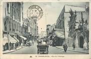 "Maroc CPA MAROC ""Casablanca, rue de l'Horloge"""