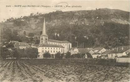 """CPA FRANCE 88 """"Rupt sur Moselle, Lette"""""""