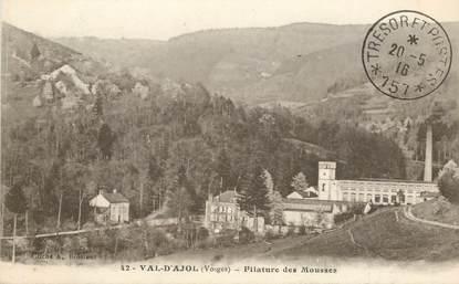 """CPA FRANCE 88 """"Val d'Ajol, Filature des Mousses"""""""