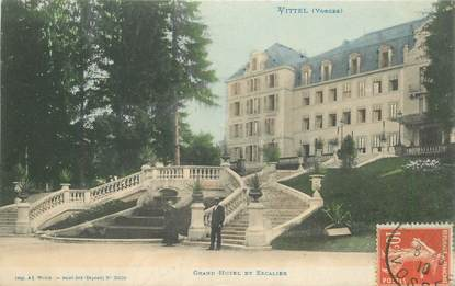 "CPA FRANCE 88 ""Vittel, grand hotel"""