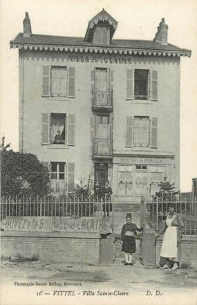 "CPA FRANCE 88 ""Vittel, Villa Sainte Claire"""