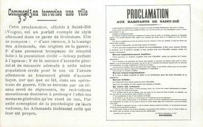 "CPA FRANCE 88 ""Saint Dié"""