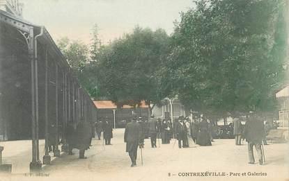 """CPA FRANCE 88 """"Contrexéville, Parc et Galeries"""""""