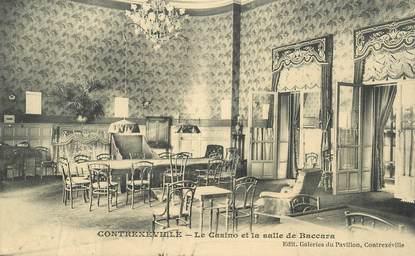 """CPA FRANCE 88 """"Contrexéville, Le Casino et la salle de Baccara"""""""